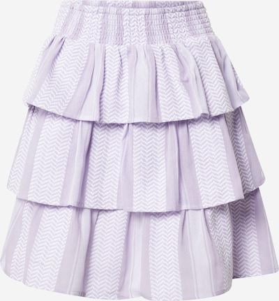 Cecilie Copenhagen Sukně 'Becky' - fialová / bílá, Produkt