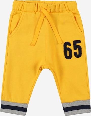 Pantaloni di UNITED COLORS OF BENETTON in giallo