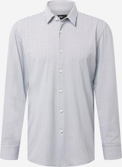 BOSS Košile - tmavě modrá / bílá, Produkt