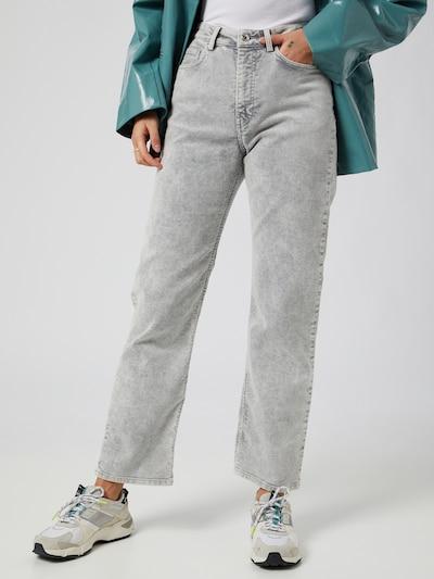 WEEKDAY Trousers 'Rowe' in Light grey, View model