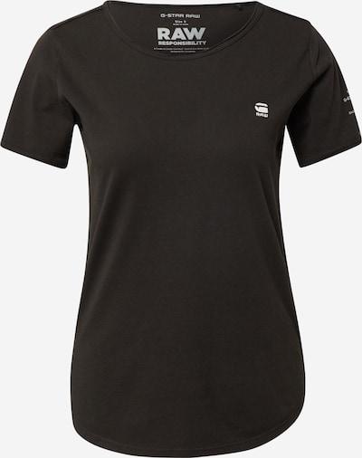 G-Star RAW Тениска 'Mysid' в черно / бяло, Преглед на продукта
