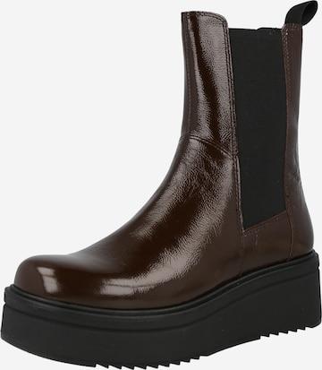 VAGABOND SHOEMAKERS Chelsea Boots 'Tara' in Braun
