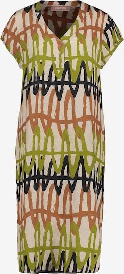 Cartoon Robe de cocktail en beige / vert / rouge, Vue avec produit