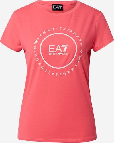 EA7 Emporio Armani Camiseta en pitaya / blanco, Vista del producto