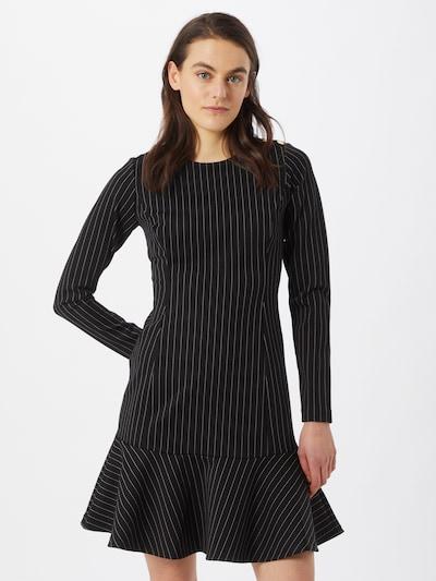 Rochie 'GIDEON' Lauren Ralph Lauren pe negru / alb: Privire frontală