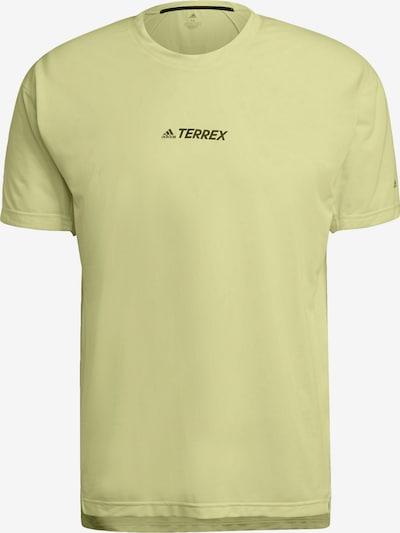 adidas Terrex Shirt in zitrone, Produktansicht