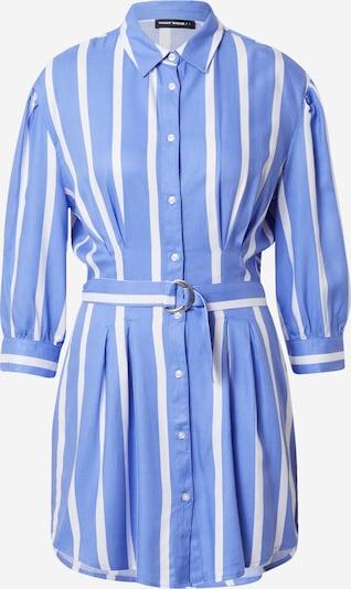 Tally Weijl Robe-chemise en bleu clair / blanc, Vue avec produit