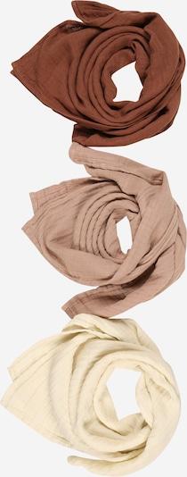 Lil ' Atelier Kids Tuch 'NISLEY' in creme / cappuccino / dunkelbraun, Produktansicht