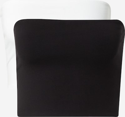 WEEKDAY Top 'Addilyn' - černá / bílá, Produkt