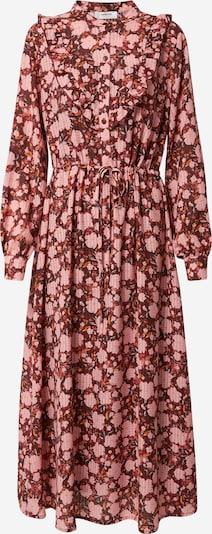 MOSS COPENHAGEN Kleid 'Frix' in gelb / rosa / weinrot, Produktansicht