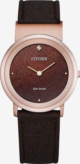 CITIZEN Uhr in braun, Produktansicht