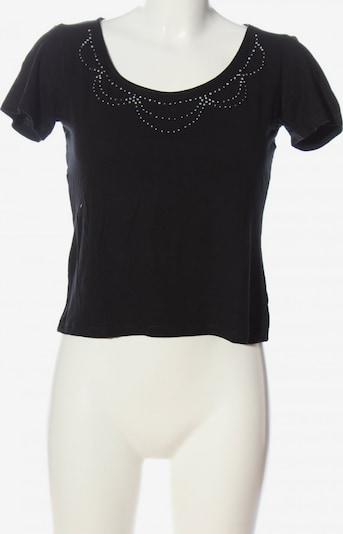 HELLINE Cropped Shirt in M in schwarz, Produktansicht