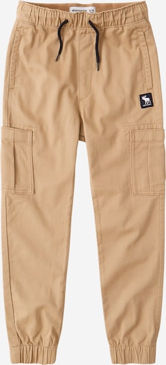 Pantaloni Abercrombie & Fitch di colore marrone chiaro, Visualizzazione prodotti