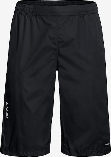 VAUDE Workout Pants 'Drop' in Black, Item view