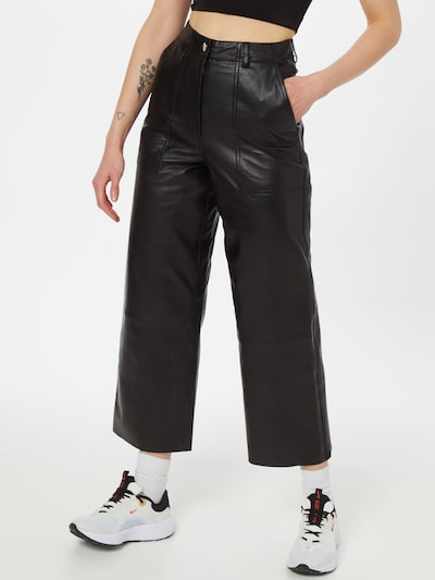 Deadwood Hose 'Presley' in schwarz, Modelansicht