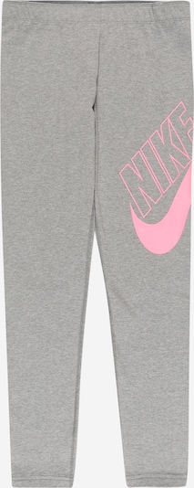 Nike Sportswear Legingi pelēks / gaiši rozā, Preces skats