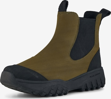 WODEN Chelsea Boots ' Magda ' in Grün