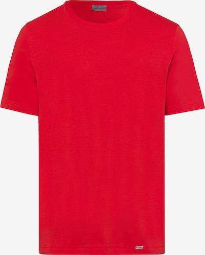 Hanro Shirt ' Living Shirts ' in de kleur Rood: Vooraanzicht