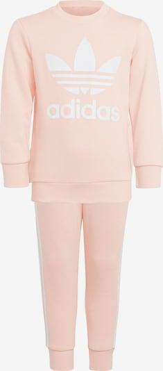 ADIDAS ORIGINALS Jogginganzug in rosa / weiß, Produktansicht