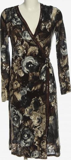 ZUCCHERO Langarmkleid in M in braun / schwarz, Produktansicht