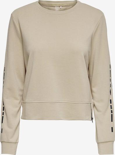 ONLY PLAY Sportsweatshirt 'Jelly' en kitt / rauchblau / schwarz, Vue avec produit