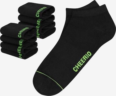 CHEERIO* Socken in schwarz, Produktansicht