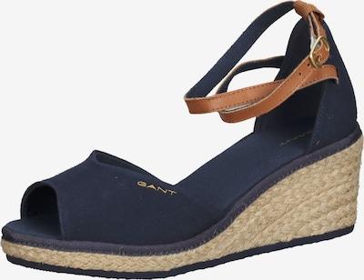 GANT Sandal in Dark blue / Cognac, Item view