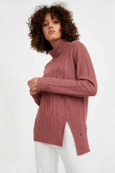 Finn Flare Strickpullover in rot, Modelansicht