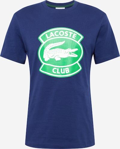 LACOSTE T-Shirt in blau / grün / weiß, Produktansicht