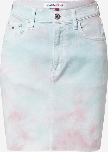 Tommy Jeans Sukně - světlemodrá / červená, Produkt