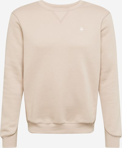 G-Star RAW Sweatshirt in beige, Produktansicht