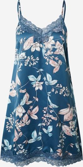 ESOTIQ Spalna srajca 'Dearly' | nude / turkizna / bela barva, Prikaz izdelka