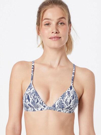 Sutien costum de baie 'HEATHER' ETAM pe albastru violet / alb, Vizualizare model