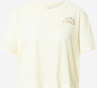 BILLABONG Tričko 'FEELING FREE' - pastelově žlutá / tmavě žlutá / černá, Produkt