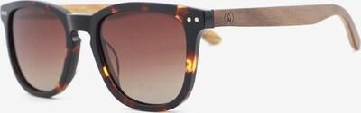 Wave Hawaii Sonnenbrille 'Chiclana' in karamell / kastanienbraun / schwarz, Produktansicht