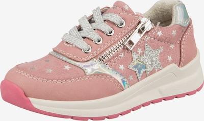 Be Mega Sneaker in altrosa / silber, Produktansicht