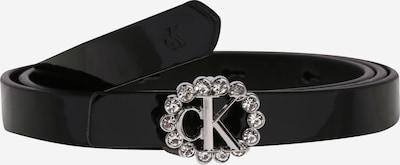Calvin Klein Jeans Gürtel in schwarz / transparent, Produktansicht