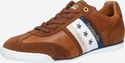 PANTOFOLA D'ORO Sneaker in blau / cognac / weiß, Produktansicht
