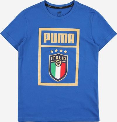 PUMA Sport-Shirt in blau / gelb / grün / rot, Produktansicht