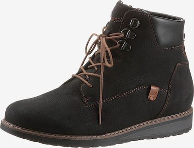 WALDLÄUFER Ankle Boots in Brown / Black, Item view