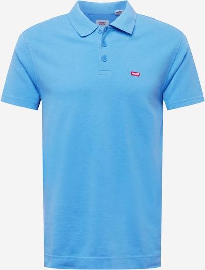 LEVI'S Poloshirt in hellblau / rot / weiß, Produktansicht