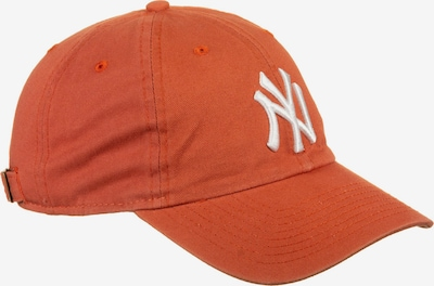 NEW ERA Cap ' Washed Casual Classic 9Twenty New York Yankees ' in orangerot, Produktansicht