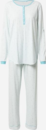 CALIDA Pyjama in de kleur Blauw / Oudroze / Wit, Productweergave