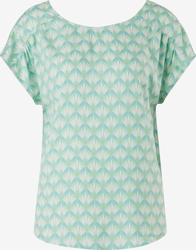s.Oliver Blouse in Blue / Turquoise / Yellow / White, Item view