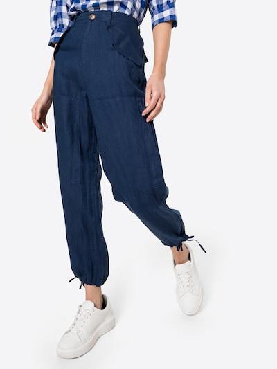 POLO RALPH LAUREN Pantalon 'CLO CGO' en indigo, Vue avec modèle