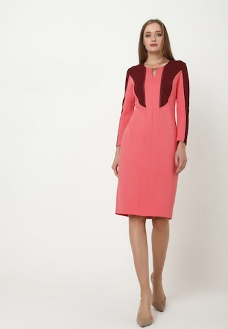 Madam-T Sheath Dress 'MURANA' in Pink