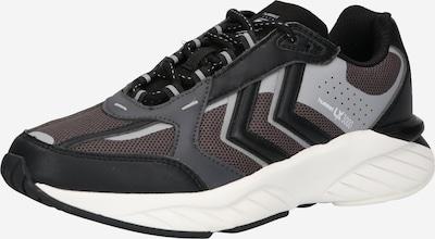 Hummel Platform trainers in Grey / Black, Item view