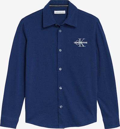 Calvin Klein Jeans Overhemd in de kleur Donkerblauw, Productweergave