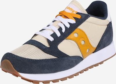 saucony Sneaker 'JAZZ' in creme / blau / braun / goldgelb, Produktansicht