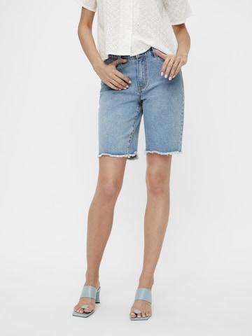 OBJECT Jeans in Blauw